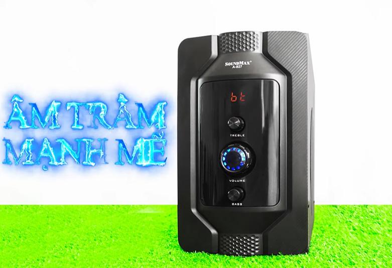 Loa Bluetooth SoundMax A-927/2.1 | công suất 32W tối ưu được chất lượng âm thanh
