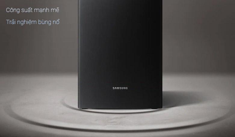 Loa Bluetooth Soundbar Samsung 2.1 HW-R450 200W   Công suất mạnh mẽ   Trải nghiệm bùng nổ