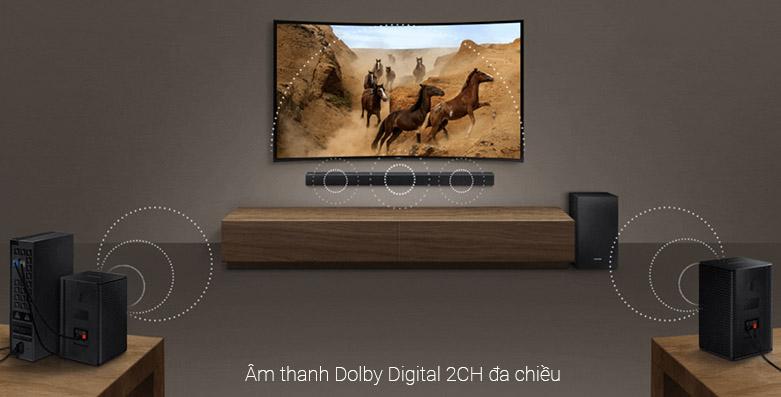 Loa Bluetooth Soundbar Samsung 2.1 HW-R450 200W   Âm thanh Dolby Digital 2CH