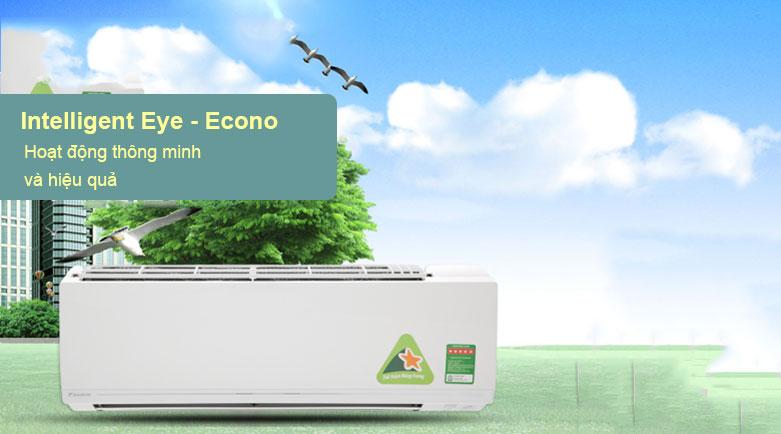Máy lạnh Daikin Inverter 1.5 HP ATKC35UAVMV | Chế độ tiết kiệm điện năng