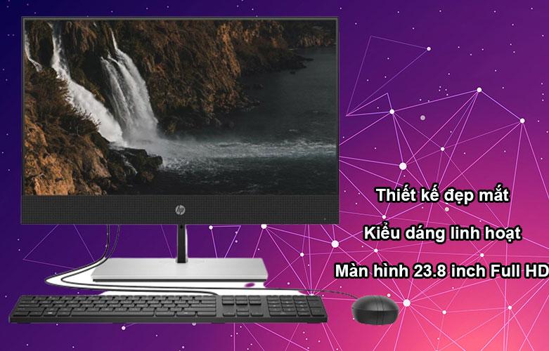 PC HP AIO ProOne 400 G6 23.8 FHD Touch (231Q3PA)   Thiết kế với vẻ ngoài đẹp