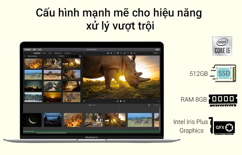 Laptop APPLE MacBook Air 2020 MVH22SA/A | Cấu hình mạnh mẽ