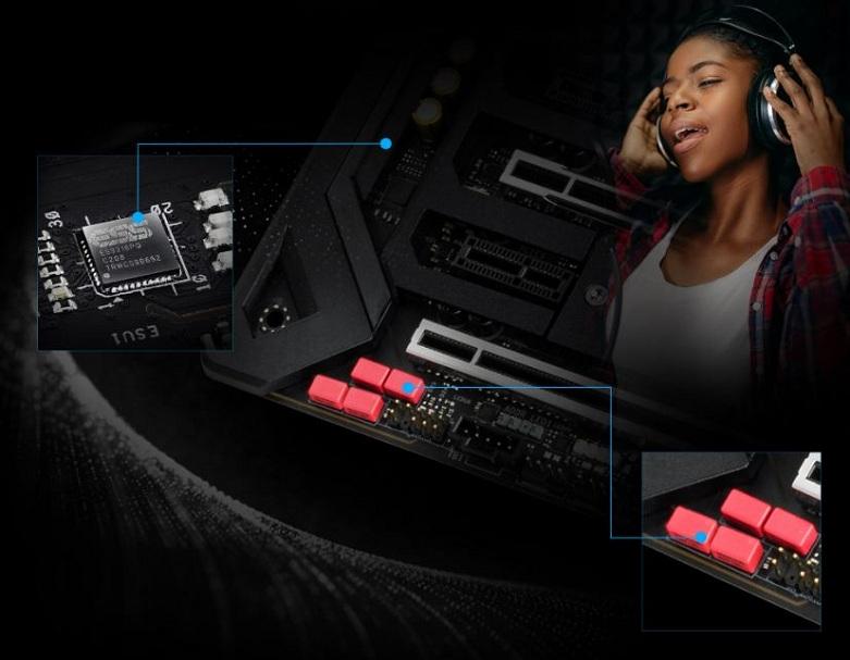 Mainboard Asrock Z490 Taichi | tối ưu hóa cho các ứng dụng âm thanh cao cấp
