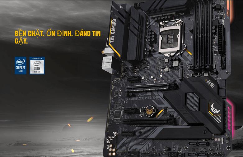 Mainboard Asus TUF Gaming Z490-PLUS (WI-FI) | Hiệu năng mạnh mẽ ổn định