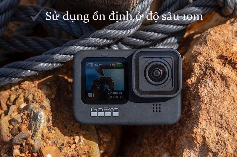 Máy Quay GoPro HERO 9 Black (CHDHX-901-RW)   Thiết kế và màn hình chống nước, HyperSmooth 3.0 chống rung hiệu quả