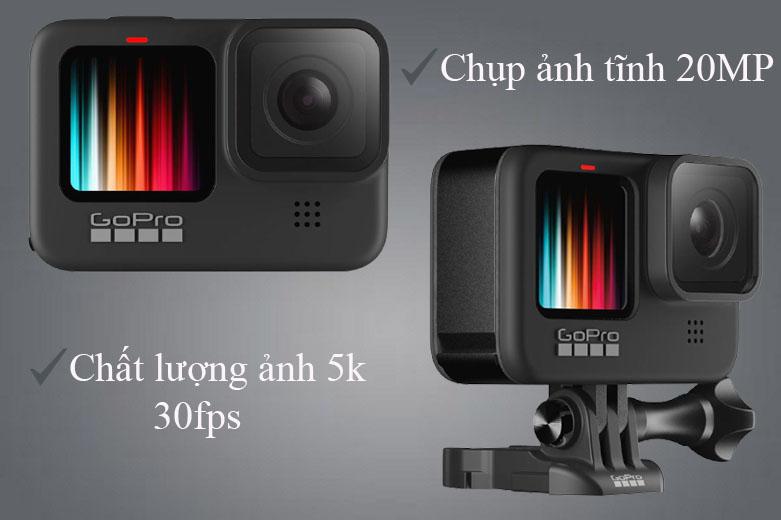 Máy Quay GoPro HERO 9 Black (CHDHX-901-RW)   Quay video lên đến 5K30 (1080p 240)