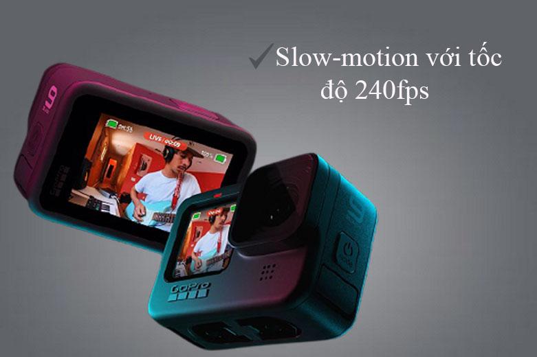Máy Quay GoPro HERO 9 Black (CHDHX-901-RW)   video sắc nét ở nhiều mức độ phân giải