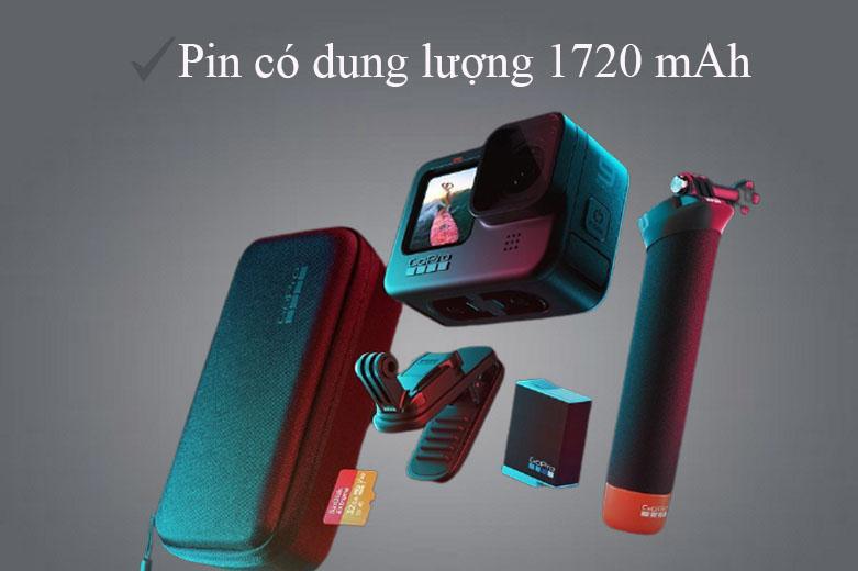 Máy Quay GoPro HERO 9 Black (CHDHX-901-RW)   thời lượng pin kéo dài