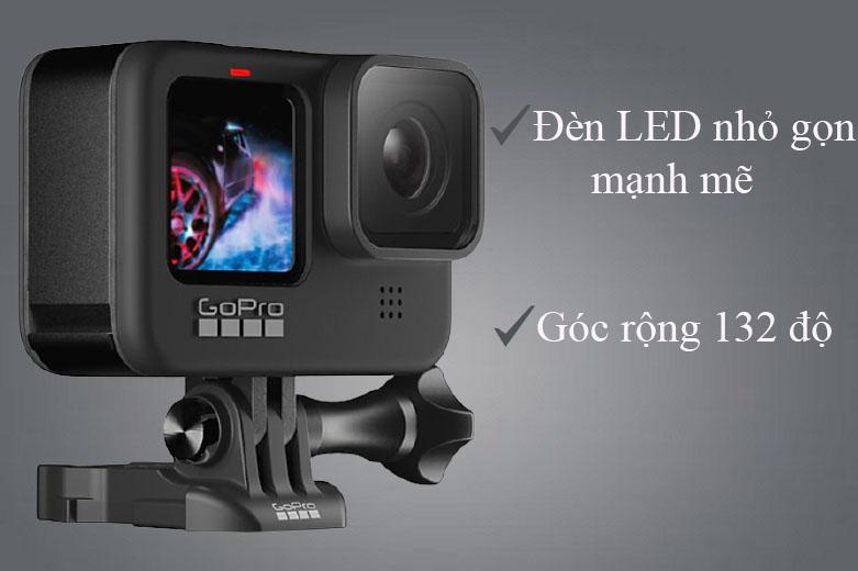 Máy Quay GoPro HERO 9 Black (CHDHX-901-RW)   Webcam mode cho chất lượng full HD, góc quay rộng 132 độ.