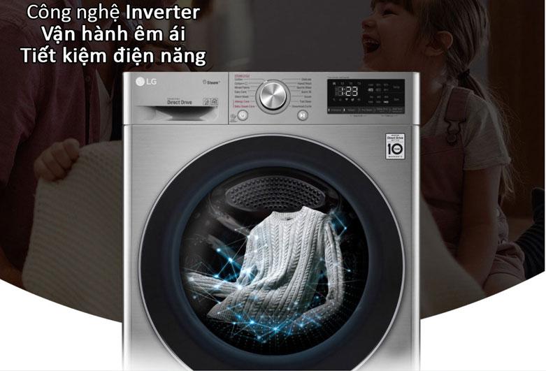 Máy giặt LG Inverter 8.5 kg FV1408S4V   Công nghệ Inverter