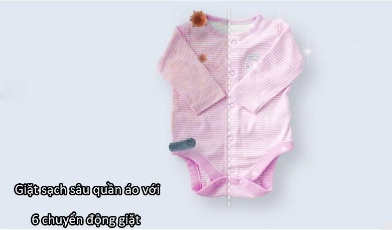 Máy giặt LG Inverter 9 kg FV1409S4W | 6 chuyển động giặt