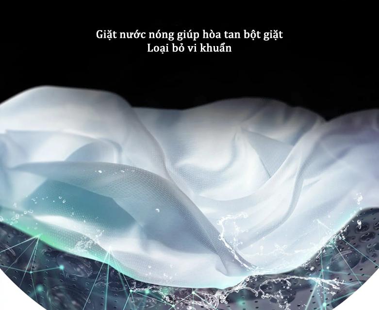 Máy giặt LG Inverter 9 kg FV1409S2W   Chế độ giặt nước nóng