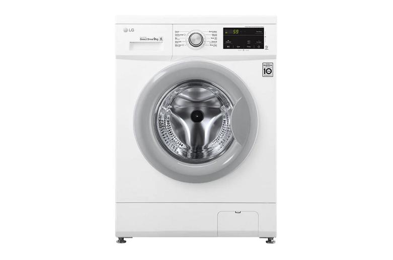 Máy giặt LG Inverter 9 kg FM1209N6W | Kiểu dáng hiện đại