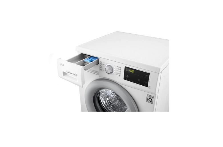 Máy giặt LG Inverter 9 kg FM1209N6W | Công nghệ truyền động cơ trực tiếp