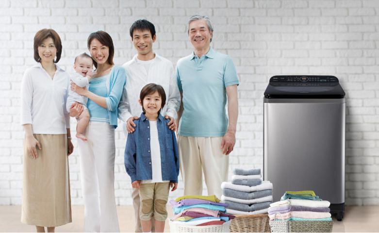 Máy giặt Panasonic Inverter 9.5 kg NA-FD95X1LRV | Kiểu dáng sang trọng