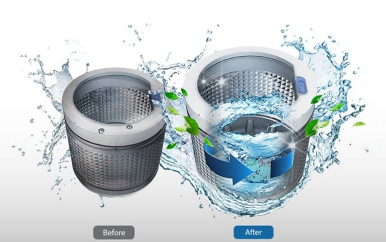 Máy giặt Panasonic Inverter 9.5 kg NA-FD95X1LRV | Chế độ tự động vệ sinh lồng giặt