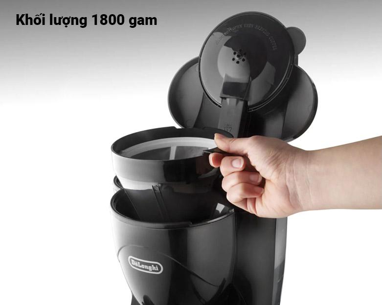 Máy pha cà phê Delonghi ICM2.1B | khối lượng 1800 gam