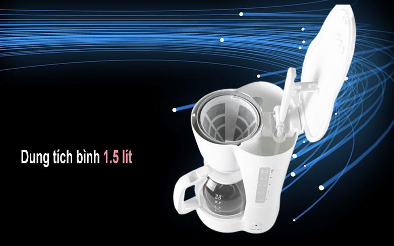 Máy pha cà phê Electrolux ECM1303W   Dung tích bình 1.5 lít