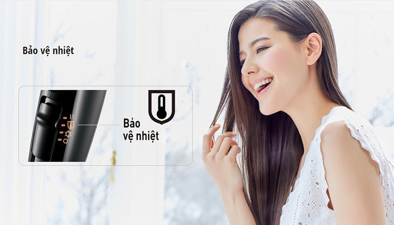 Máy sấy tóc Panasonic EH-NE65-K645 | Hoạt động êm ái, tính năng bảo vệ nhiệt - bảo vệ da đầu tránh bị tổn thương