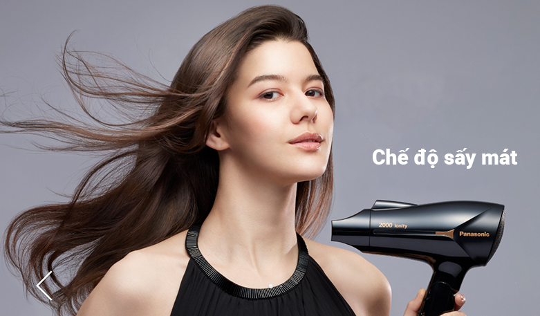 Máy sấy tóc Panasonic EH-NE65-K645 | Chế độ sấy mát