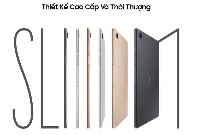 Samsung Galaxy Tab A7 T505 64GB (Đồng) (SM-T505NZDEXEV)   Thiết kế cao cấp, màu đồng sang trọng