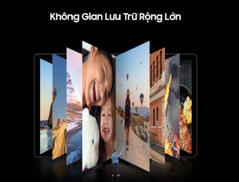 Samsung Galaxy Tab A7 T505 64GB (Đồng) (SM-T505NZDEXEV)   Hệ điều hành Android, dung lượng 64GB