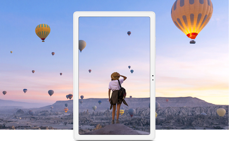 Samsung Galaxy Tab A7 T505 64GB (Xám) (SM-T505NZAEXEV)   hình ảnh hoặc video có độ phân giải cao