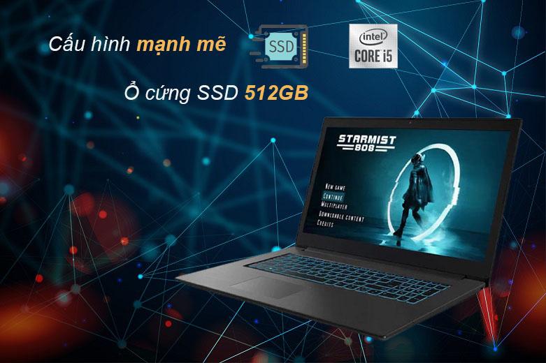 Laptop Lenovo Gaming L340-15IRH-81LK01J3VN (i5-9300HF) | Cấu hình mạnh mẽ