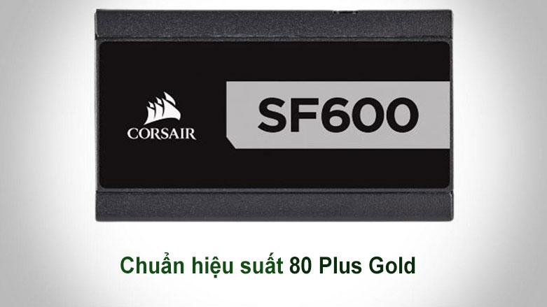 Nguồn/ Power Corsair 600w SF600 - 80 Plus Platinum (CP-9020182-NA) | hiệu suất 80 Plus Gold