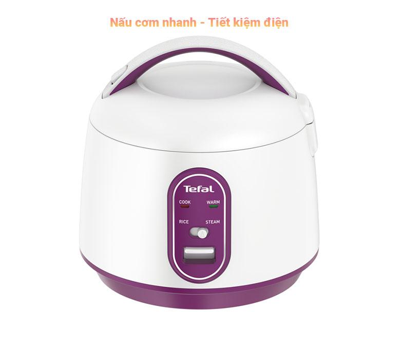 Nồi cơm điện cơ mini Tefal RK224168 - 0.7L, 300W | Nấu cơm nhanh, tiết kiệm điện