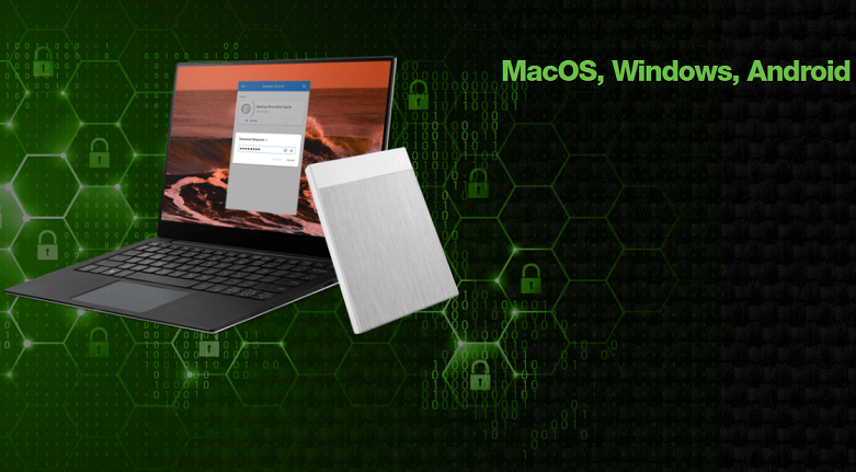 Ổ cứng gắn ngoài SSD Seagate Ultra Touch 1TB White (STJW1000400) | tương thích với mọi hệ điều hành