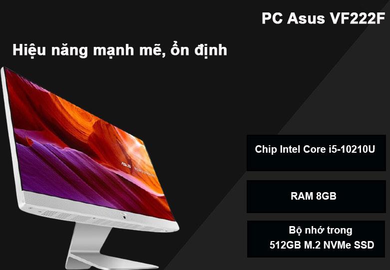 PC Asus VF222F | Hiệu năng mạnh mẽ