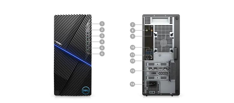 PC Dell G5 5000 Gaming (70226491) | Kết nối đa dạng