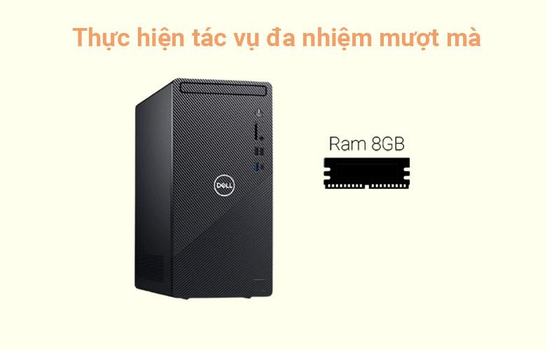 PC Dell Inspiron 3881 MT (MTI51206W-8G-256G+1T) | Đa nhiệm mượt mà