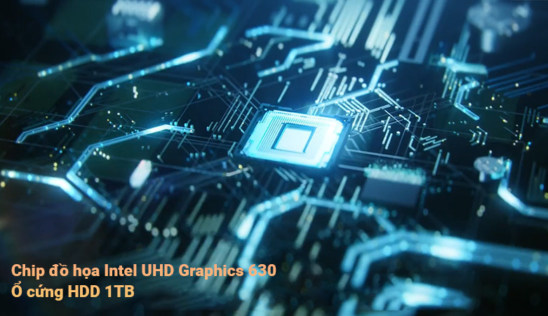PC Dell OptiPlex 3080 SFF (i3 10100/4GB/1TB HDD/DVDRW/KB+M/Fedora/1Yr) | Chip đồ họa vượt trội Intel UHD Graphics 630
