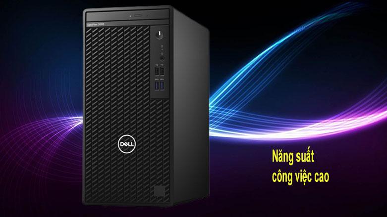 PC Dell OptiPlex 3080 Tower (42OT380012) | Năng suất công việc cao