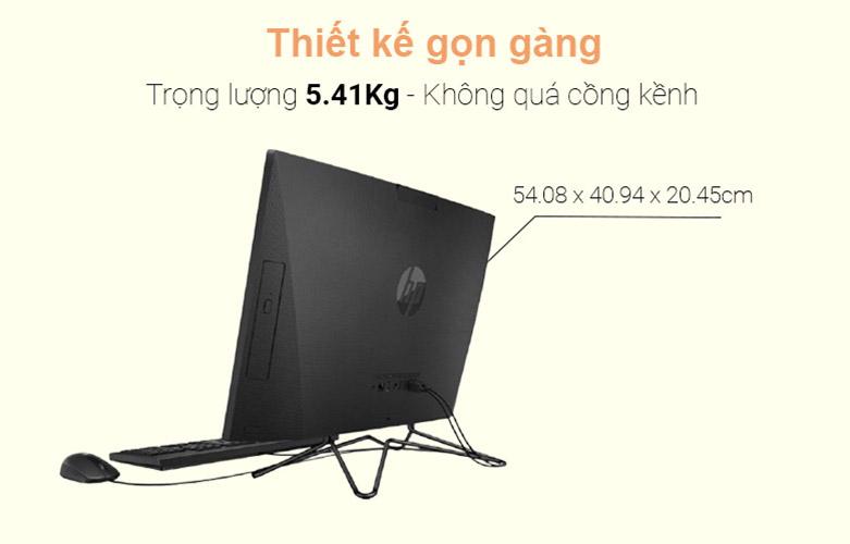 PC HP AIO 205 Pro G4 (31Y21PA)   Thiết kế tối giản và độc đáo