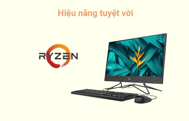 PC HP AIO 205 Pro G4 (31Y21PA)   Bộ vi xử lý AMD Ryzen 5