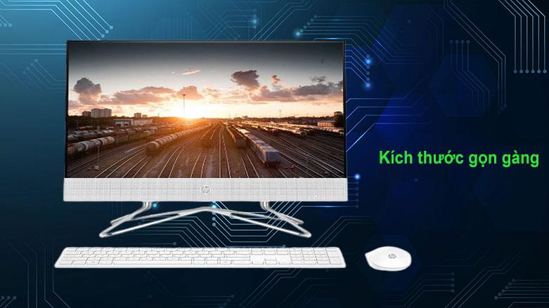 PC HP AIO 22-df0134d (180N7AA) | Kích thước gọn gàng phù hợp