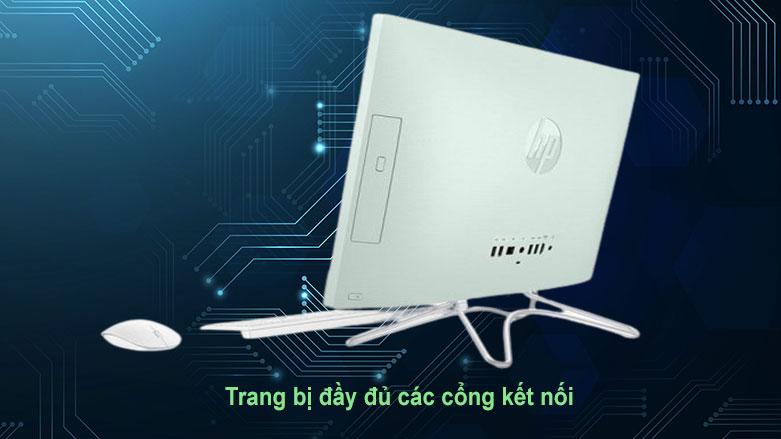 PC HP AIO 22-df0134d (180N7AA) | Cổng kết nối đầy đủ