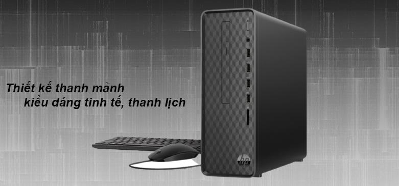 PC HP S01-pF1167d (22X66AA) | Thiết kế thanh mảnh