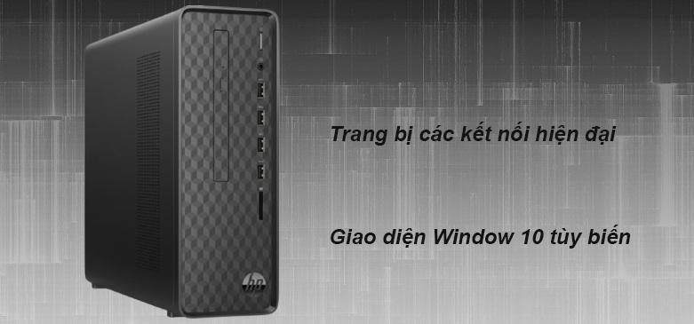 PC HP S01-pF1167d (22X66AA) | Trang bị các kết nối hiện đại