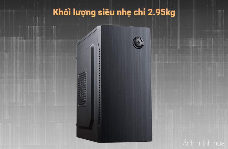 Máy tính để bàn Phong Vũ PVP Office K10100-2 | Khối lượng siêu nhẹ