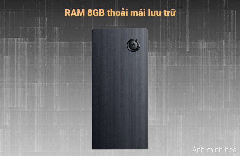 Máy tính để bàn Phong Vũ PVP Office K10100-2 | Ram 8GB