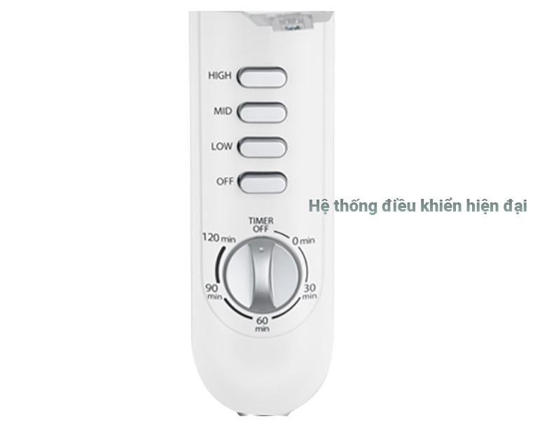 Quạt đứng Toshiba F-LSA10(H)VN | Hệ thống điều khiển hiện đại
