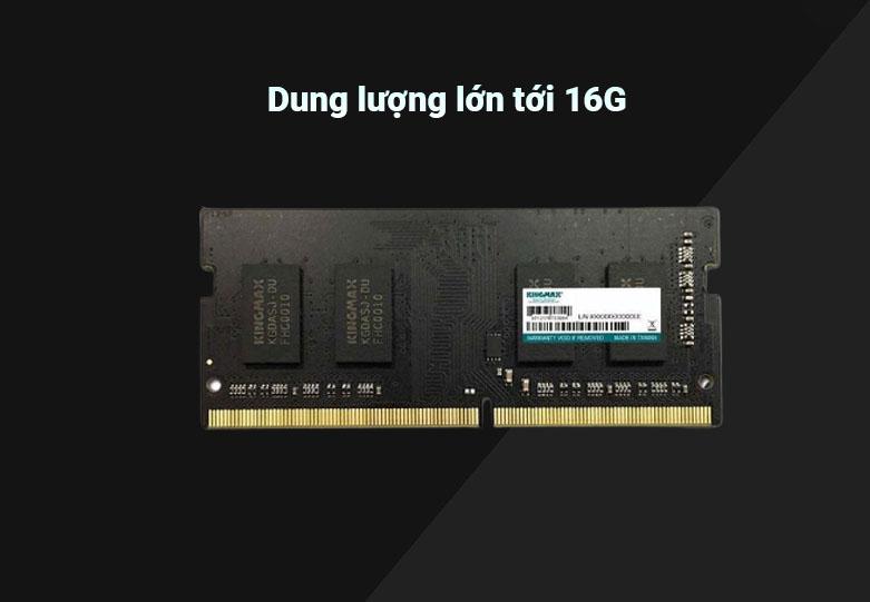 Bộ nhớ laptop DDR4 Kingmax 16GB (3200) | Dung lượng lớn tới 16G