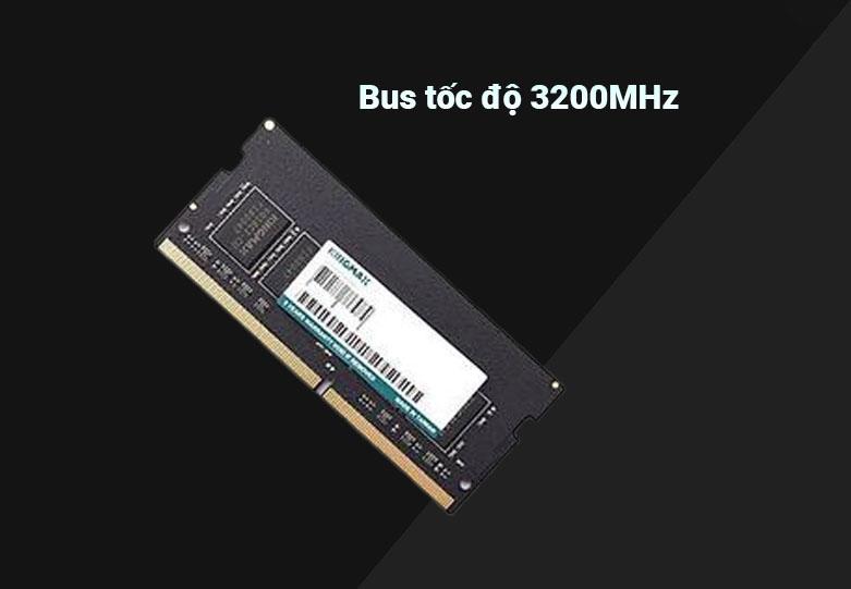 Bộ nhớ laptop DDR4 Kingmax 16GB (3200) | Bus tốc độ 3200MHz