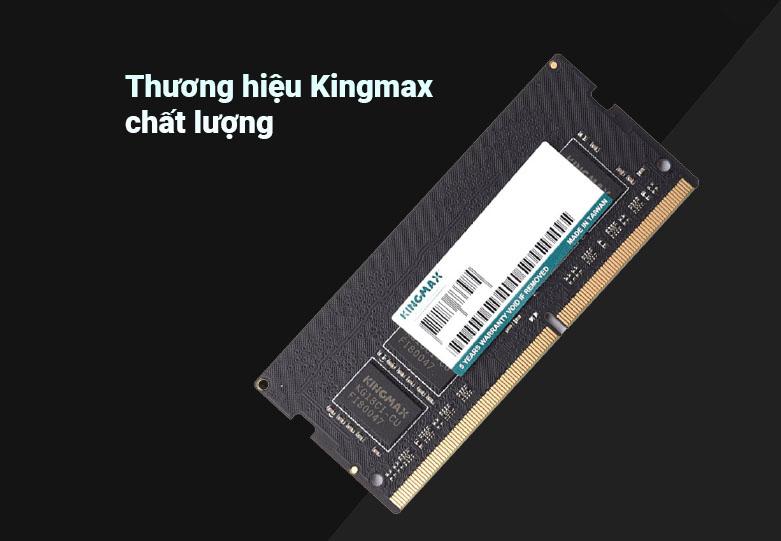 Bộ nhớ laptop DDR4 Kingmax 16GB (3200) | Bộ nhớ thuộc thương hiệu Kingmax