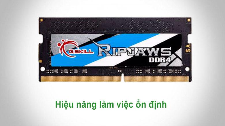 Bộ nhớ laptop DDR4 G.Skill 4GB (2666) F4-2666C18S-4GRS | Hiệu năng làm việc ổn định