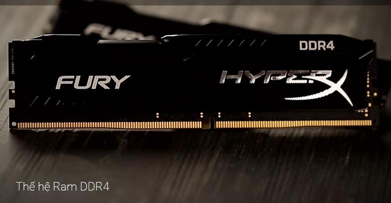 Ram DDR4 Kingston HyperX Fury Black 8GB (3000) (HX430C15FB3/8) | Thế hệ Ram DDR4 chất lượng